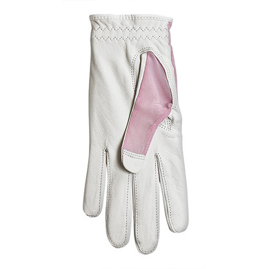 Luxury Cabretta Leather Sun Glove- Pink