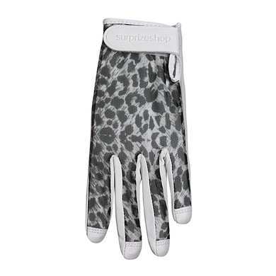 Luxury Cabretta Leather Sun Glove- Cheetah