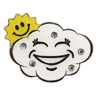 Happy Cloud  Golf Ball Marker