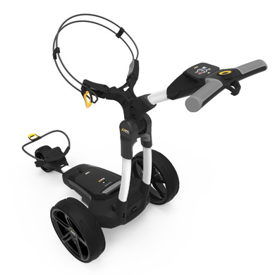 PowaKaddy FX3 18 Hole Lithium Electric Trolley 2021 - White