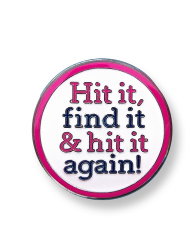 Charley Hull Ball Marker - Hit It