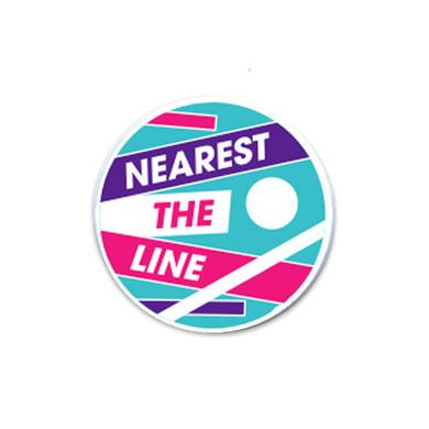 Nearest the line  Golf Ball Marker