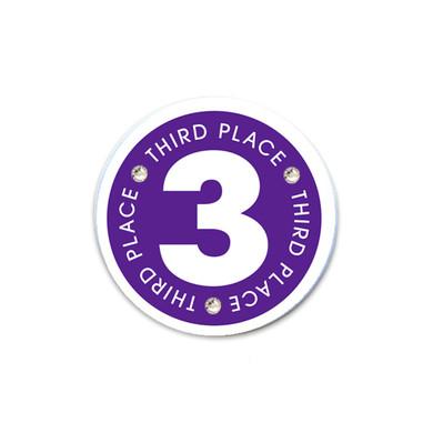 3rd Place Golf Ball Marker