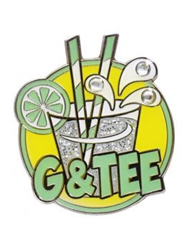 G and Tee  Golf Ball Marker