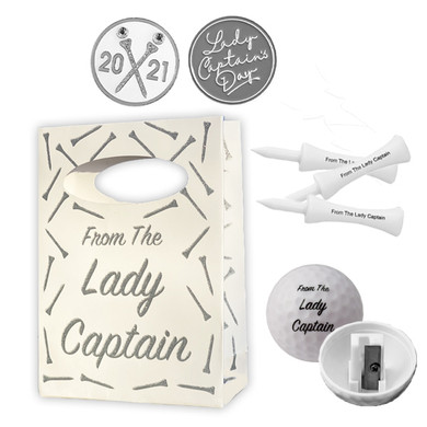 Exclusive Lady Captain's Day 2021 Glitter Bag and Ball Marker Set