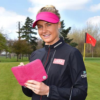 Charley Hull Hit It  Scorecard Holder
