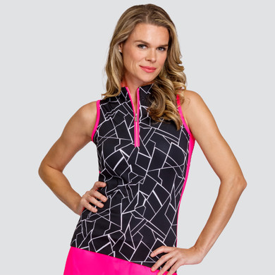 Tail Ladies Golf Cindy Sleeveless Polo - Fracture