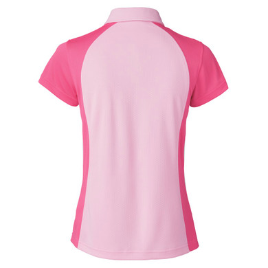 Daily Sports Zenia Cap Sleeve Polo Shirt - Lipstick