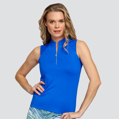 Tail Ladies Golf Venus Sleeveless Polo - Admiral Blue