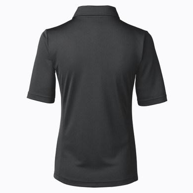 Daily Sports Black Half Sleeve Golf Polo Shirt - Rear