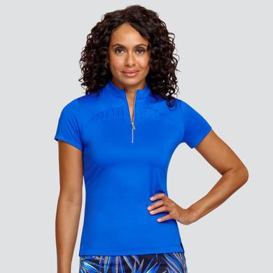 Tail Ladies Golf Bridge Short Sleeve Polo - Admiral Blue