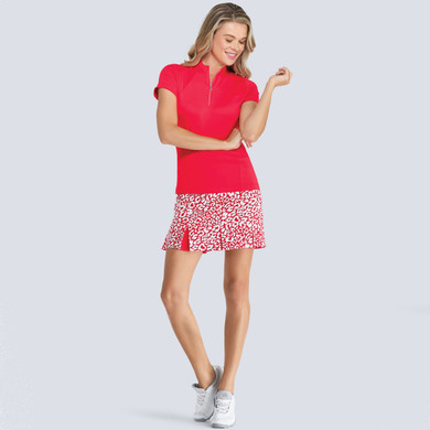 Tail Ladies Golf Pull On Gaia Skort 45 CM with Front and Back Pleats- Wildcat