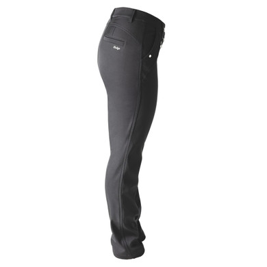 Daily Sports Lined Irene Trouser 29 Inch Black - Side