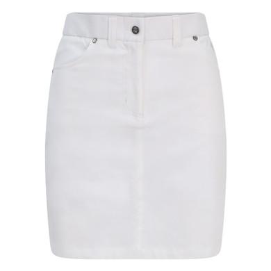 Pure Golf Ladies Calm Skort 50CM- White
