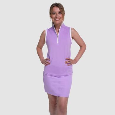 Pure Golf Ladies Calm Skort 50CM- Lilac