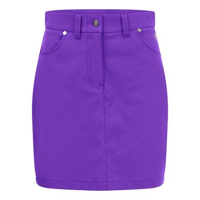 Pure Golf Ladies Calm Skort 50CM- Purple
