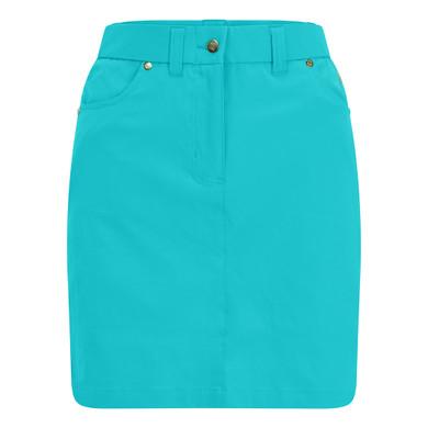 Pure Golf Ladies Calm Skort 50CM- Ocean Blue
