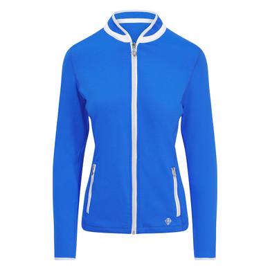 Pure Golf Ladies Mist Full Zip Mid Layer - Royal Blue