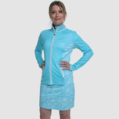 Pure Golf Ladies Breeze Golf Jacket - Ocean Blue