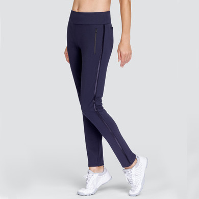 Tail Ladies Golf Aubriana Pull On 31 Inch Trousers - Navy