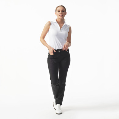 Daily Sports Womens Golf Trousers Miracle 29 Inch Black - Front Lifestyle
