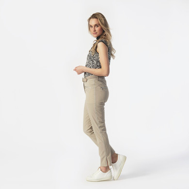 Daily Sports Glam 7/8 High Water Trouser - Sandy