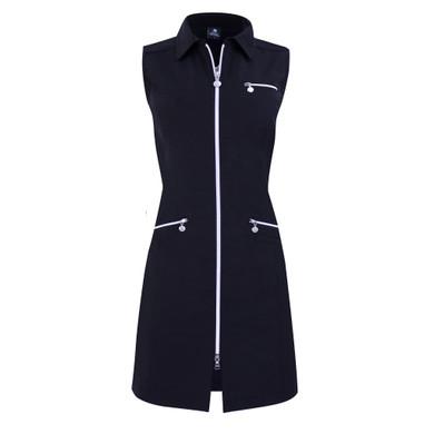 Daily Sports Glam Sleevless Dress- Navy