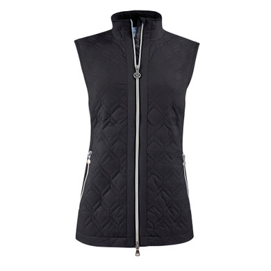 Daily Sports Quilted Even Vest- Black