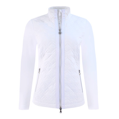 Daily Sports Quilted Even Jacket- White