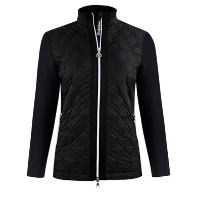 Daily Sports Quilted Even Jacket- Black