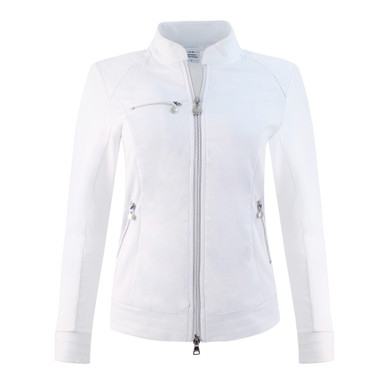 Daily Sports Ladies Score Jacket- White