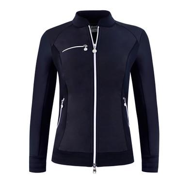 Daily Sports Ladies Score Jacket- Navy