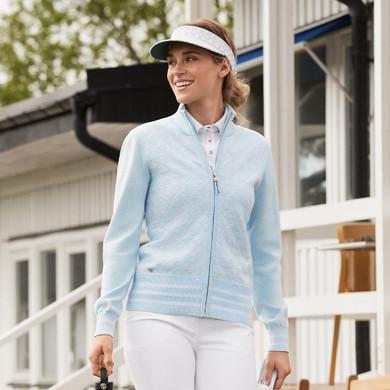 Daily Sports Ladies Tindra Cardigan - Blue Breeze