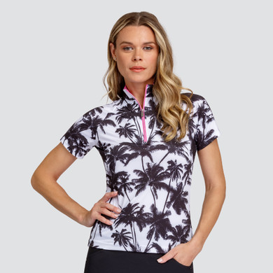 Tail Ladies Golf Amaya Short Sleeve Polo - Palm View