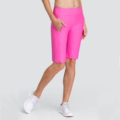 Tail Ladies Golf Pull On Nicky Shorts 53 CM- Petunia