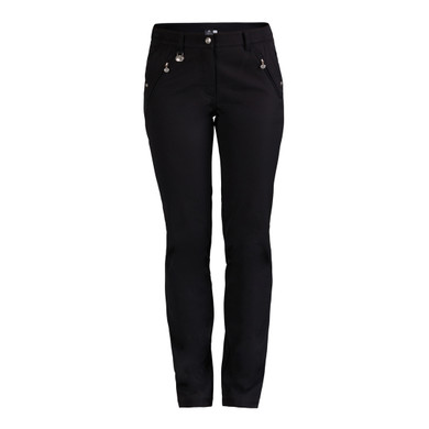 Daily Sports Irene Lined Trouser 29 Inch - Black (Daily Sports XDS LOGO)