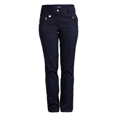 Daily Sports Irene Lined Trouser 29 Inch - Navy (Daily Sports XDS LOGO)