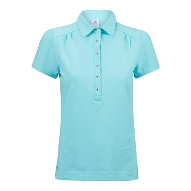 Daily Sports Majken Cap Sleeve Polo Shirt - Lagoon