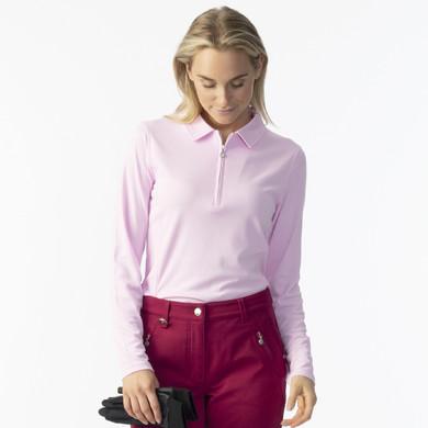 Daily Sports Macy Long Sleeve Polo Shirt - Love