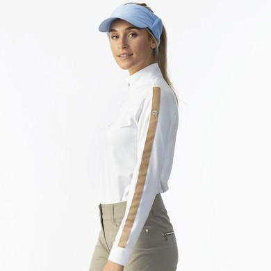 Daily Sports Anna Long Sleeve Half Neck - White