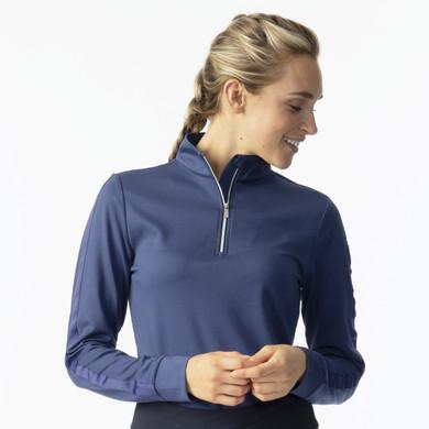 Daily Sports Anna Long Sleeve Half Neck - Baltic