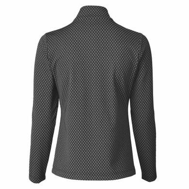 Daily Sports Honey Long Sleeve Polo Shirt - Black