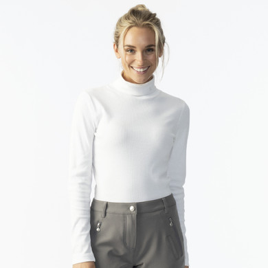 Daily Sports Mggie Long Sleeve Roll Neck - White