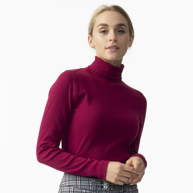 Daily Sports Maggie Long Sleeve Roll Neck - Plum