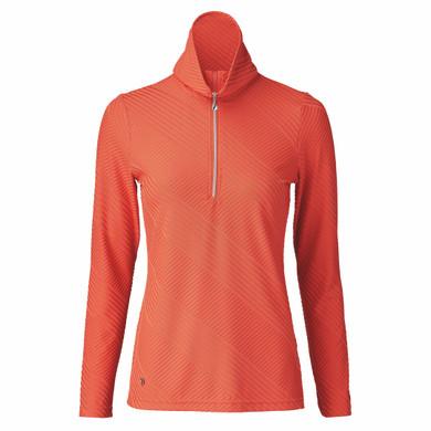 Daily Sports Floy Long Sleeve Polo Shirt - Autumn Leaf