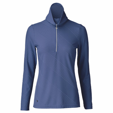 Daily Sports Floy Long Sleeve Polo Shirt - Baltic