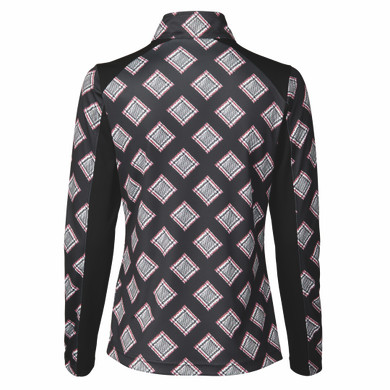 Daily Sports Ruthie Long Sleeve Half Neck - Black