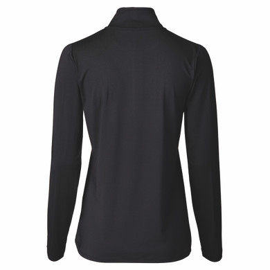 Daily Sports Parisa Long Sleeve Half Neck - Black