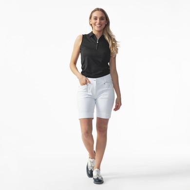 Daily Sports Lyric White Shorts Ladies Golf 48 CM - Front Lifestyle