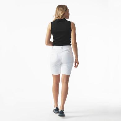 Daily Sports Lyric White Shorts Ladies Golf 48 CM - Rear Lifestyle
